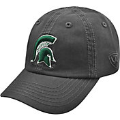 Top of the World Men's Michigan State Spartans Grey Crew Adjustable Hat