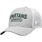 Top of the World Men's Michigan State Spartans Grey Notch Adjustable Snapback Hat