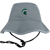 Top of the World Men's Michigan State Spartans Grey Bucket Hat