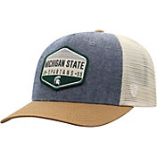Top of the World Men's Michigan State Spartans Grey/Brown/White Wild Adjustable Hat