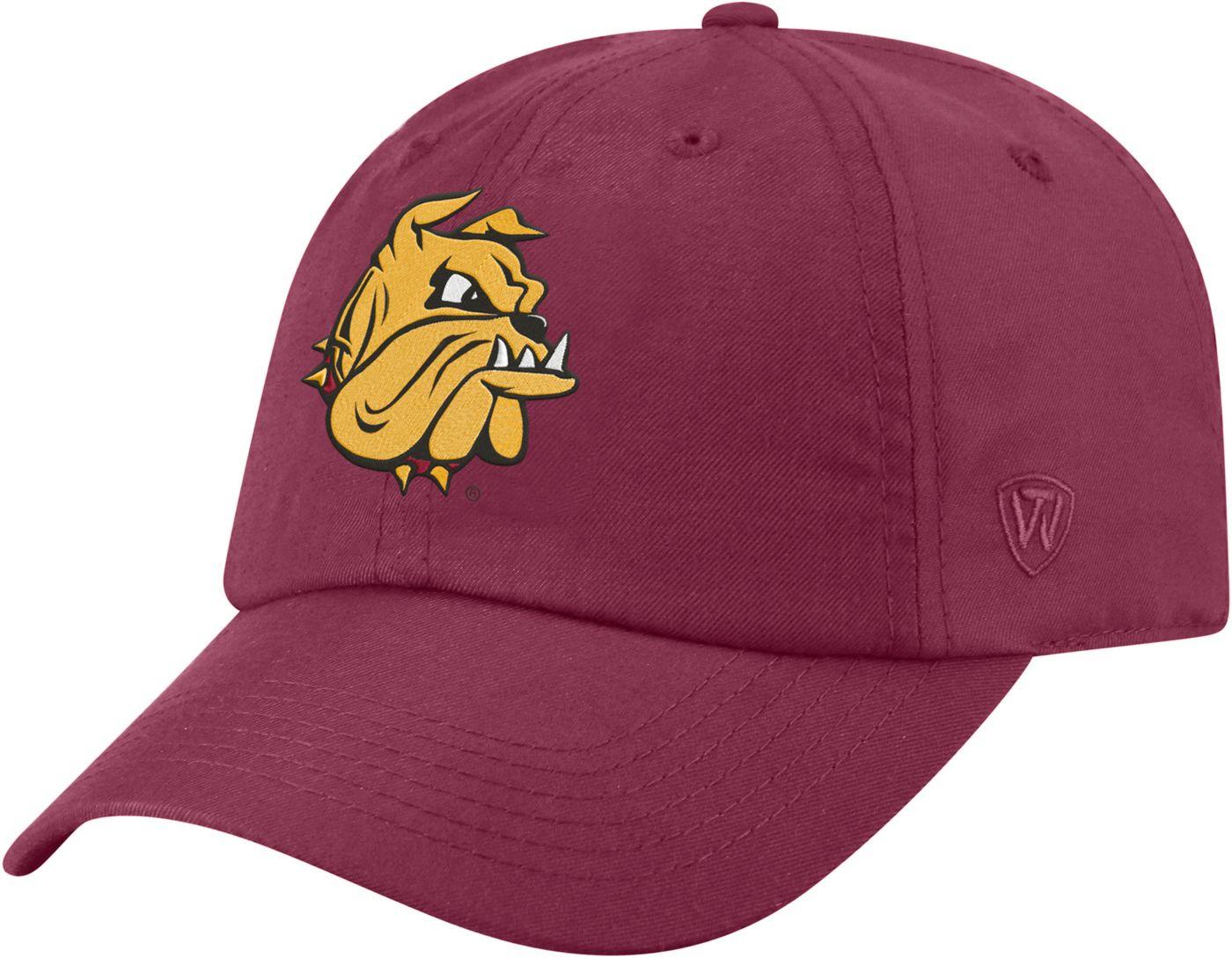 Top of the World Men's Minnesota-Duluth  Bulldogs Maroon Staple Adjustable Hat