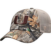 Top of the World Men's Miami Hurricanes Camo Acorn Adjustable Hat