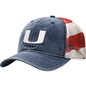 Top of the World Men's Miami Hurricanes Flag Adjustable Hat