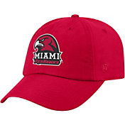 Top of the World Men's Miami RedHawks Red Staple Adjustable Hat