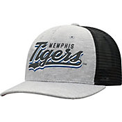 Top of the World Men's Memphis Tigers Grey/Black Cutter Adjustable Hat