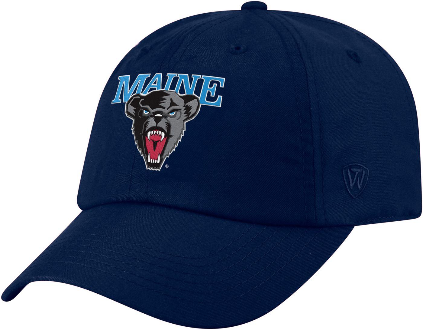 Top of the World Men's Maine Black Bears Blue Staple Adjustable Hat