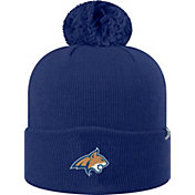 Top of the World Men's Montana State Bobcats Blue Pom Knit Beanie