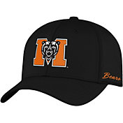 Top of the World Men's Mercer Bears Phenom 1Fit Flex Black Hat