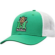 Top of the World Men's Marshall Thundering Herd Green/White Trucker Adjustable Hat