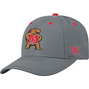 Top of the World Men's Maryland Terrapins Grey Triple Threat Adjustable Hat
