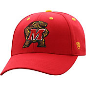 Top of the World Men's Maryland Terrapins Red Triple Threat Adjustable Hat