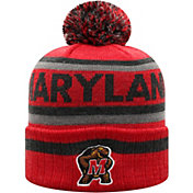 Top of the World Men's Maryland Terrapins Red Buddy Cuffed Pom Knit Beanie
