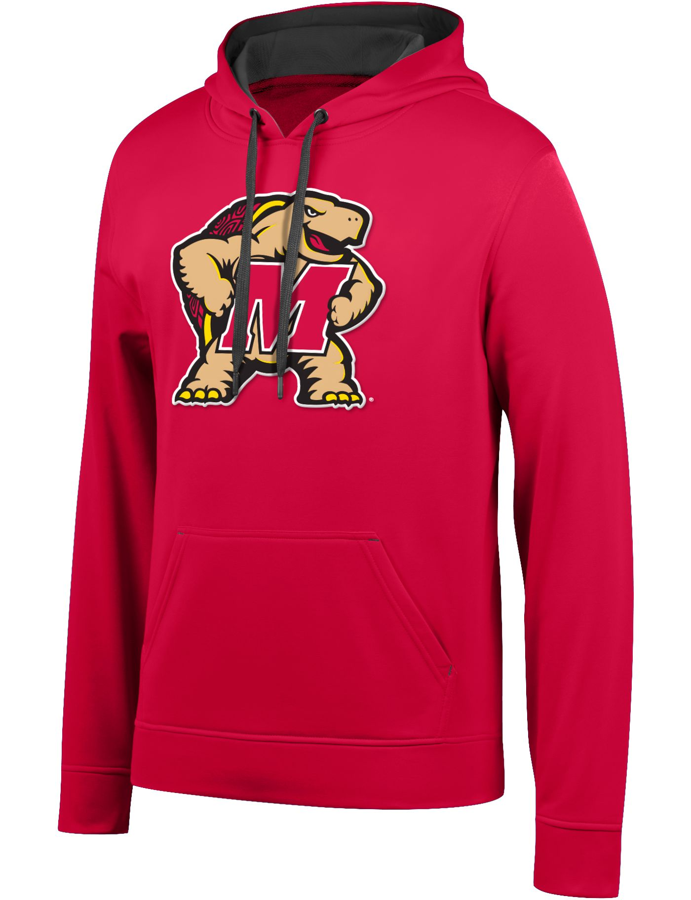 Top of the World Men's Maryland Terrapins Red Foundation Poly Hoodie