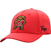 Top of the World Men's Maryland Terrapins Red Phenom 1Fit Flex Hat
