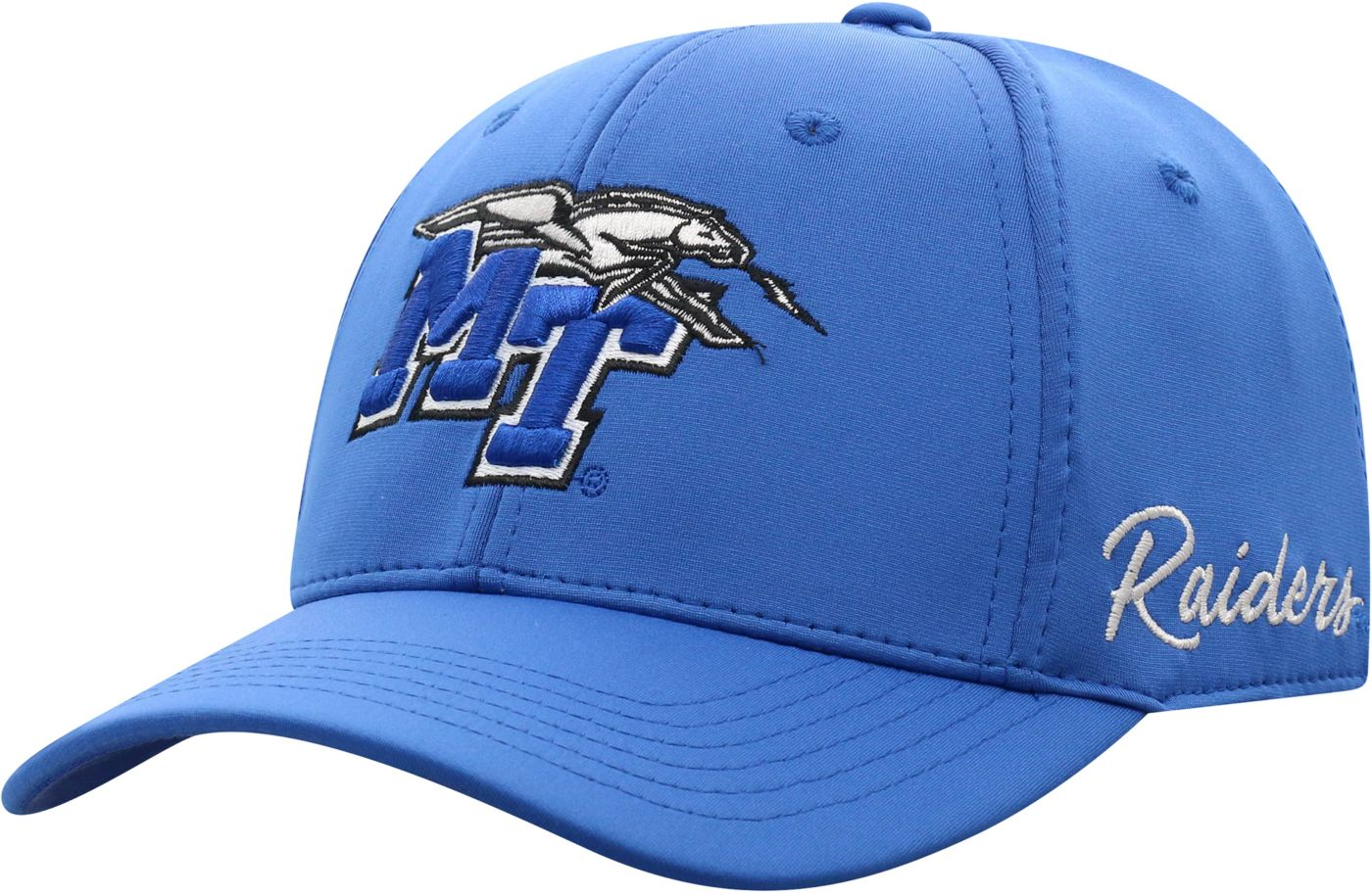 Top of the World Men's Middle Tennessee State Blue Raiders Blue Phenom 1Fit Flex Hat