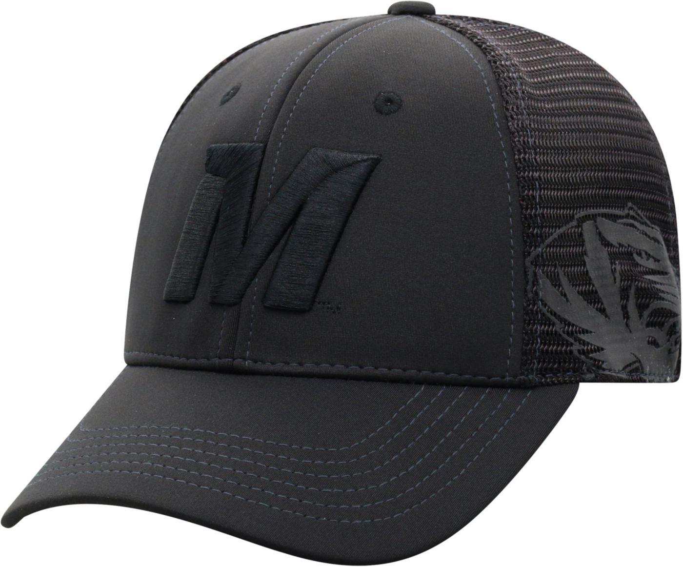 Top of the World Men's Missouri Tigers Dayblaster 1Fit Flex Black Hat