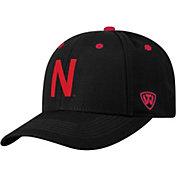 Top of the World Men's Nebraska Cornhuskers Triple Threat Adjustable Black Hat