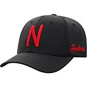 Top of the World Men's Nebraska Cornhuskers Phenom 1Fit Flex Black Hat