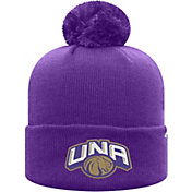Top of the World Men's North Alabama  Lions Purple Pom Knit Beanie