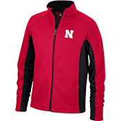 Spyder Men's Nebraska Cornhuskers Scarlet Constant Full-Zip Fleece Jacket