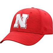 Top of the World Men's Nebraska Cornhuskers Scarlet Intrude 1Fit Flex Hat
