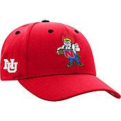 Top of the World Men's Nebraska Cornhuskers Scarlet Retro Triple Threat Adjustable Hat