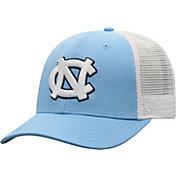 Top of the World Men's North Carolina Tar Heels Carolina Blue/White Trucker Adjustable Hat