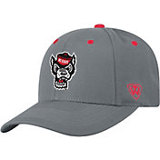 Top of the World Men's NC State Wolfpack Grey Triple Threat Adjustable Hat