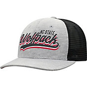 Top of the World Men's NC State Wolfpack Grey/Black Cutter Adjustable Hat