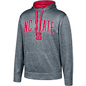 Top of the World Men's NC State Wolfpack Grey Foundation Poly Hoodie