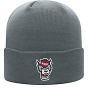 Top of the World Men's NC State Wolfpack Grey Cuff Knit Beanie