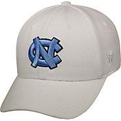 Top of the World Men's North Carolina Tar Heels Premium 1Fit Flex White Hat
