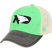 Top of the World Men's North Dakota Fighting Hawks Green/White Off Road Adjustable Hat