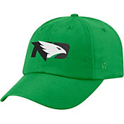 Top of the World Men's North Dakota Fighting Hawks Green Staple Adjustable Hat