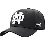 Top of the World Men's Notre Dame Fighting Irish Phenom 1Fit Flex Black Hat
