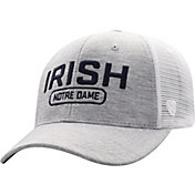 Top of the World Men's Notre Dame Fighting Irish Grey Notch Adjustable Snapback Hat