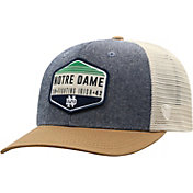 Top of the World Men's Notre Dame Fighting Irish Grey/Brown/White Wild Adjustable Hat