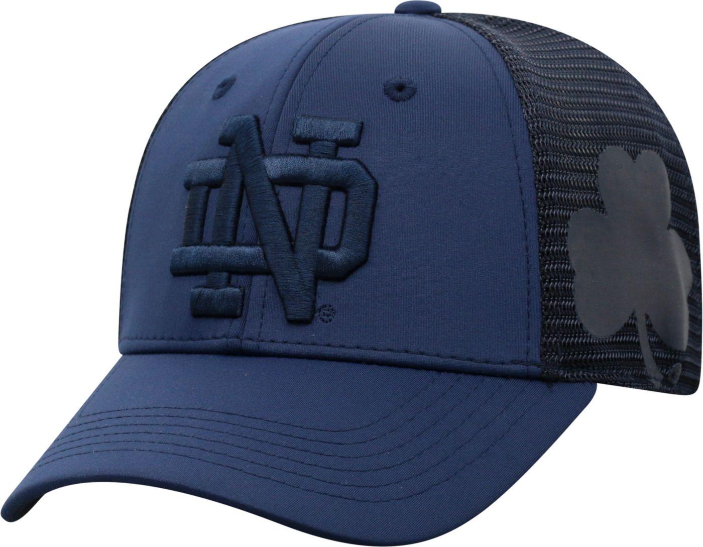 Top of the World Men's Notre Dame Fighting Irish Navy Dayblaster 1Fit Flex Hat