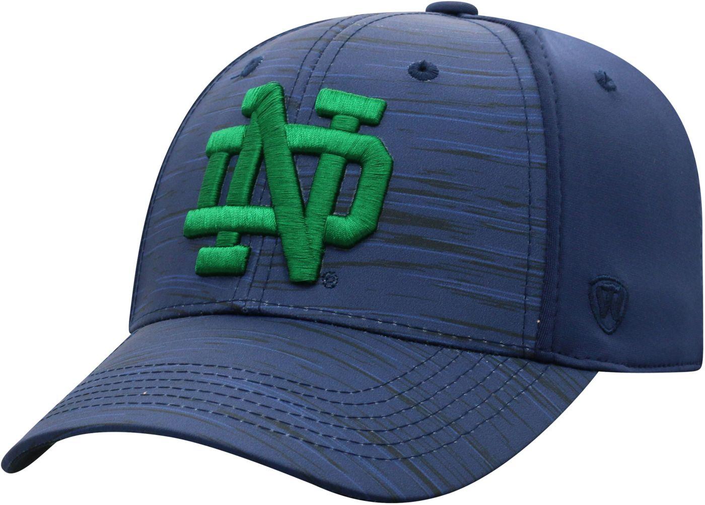 Top of the World Men's Notre Dame Fighting Irish Blue Intrude 1Fit Flex Hat