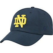 Top of the World Men's Notre Dame Fighting Irish Navy Staple Adjustable Hat