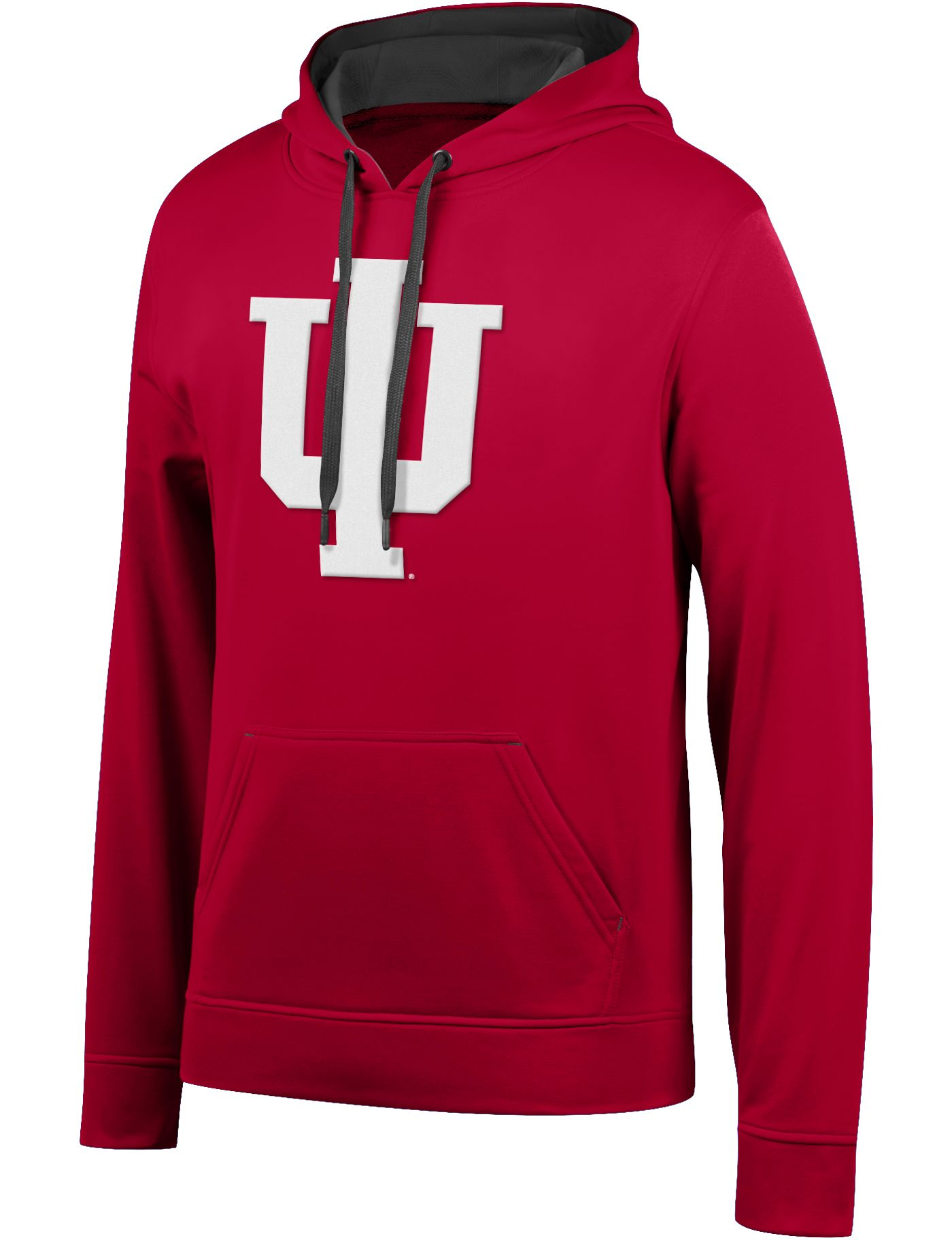Top of the World Men's Indiana Hoosiers Crimson Foundation Poly Hoodie