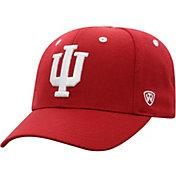 Top of the World Men's Indiana Hoosiers Crimson Triple Threat Adjustable Hat