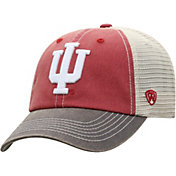 Top of the World Men's Indiana Hoosiers Crimson/White Off Road Adjustable Hat
