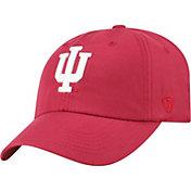 Top of the World Men's Indiana Hoosiers Crimson Staple Adjustable Hat