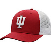 Top of the World Men's Indiana Hoosiers Crimson/White Trucker Adjustable Hat
