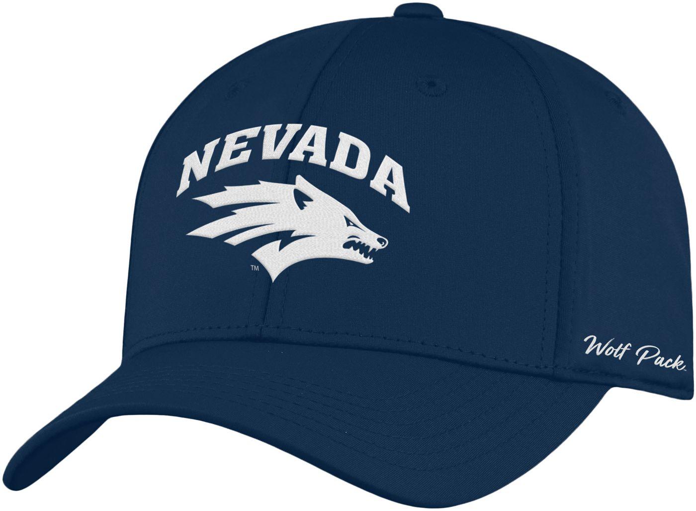 Top of the World Men's Nevada Wolf Pack Blue Phenom 1Fit Flex Hat
