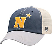 Top of the World Men's Navy Midshipmen Navy/White Off Road Adjustable Hat