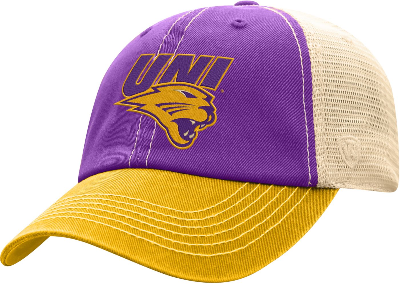 Top of the World Men's Northern Iowa Panthers  Purple/White Off Road Adjustable Hat