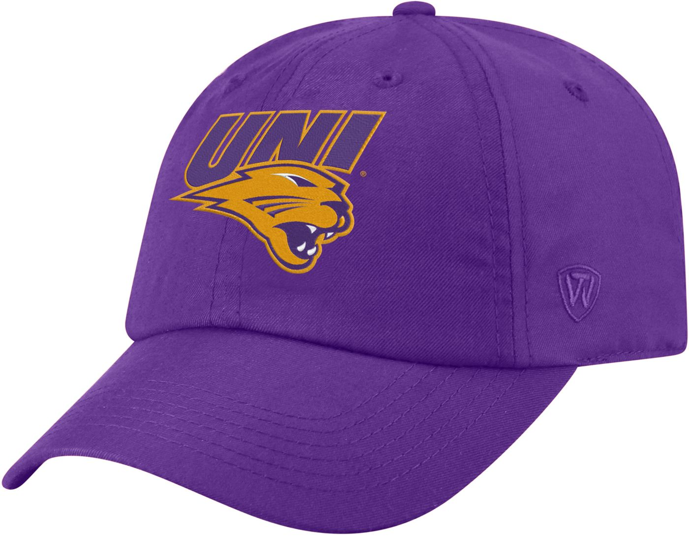 Top of the World Men's Northern Iowa Panthers  Purple Staple Adjustable Hat