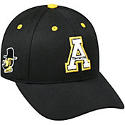 Top of the World Men's Appalachian State Mountaineers Triple Threat Adjustable Black Hat
